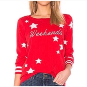 Chaser Weekends Cashmere Blend Sweater
